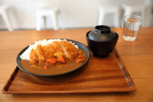 Fried Pork Curry Rice